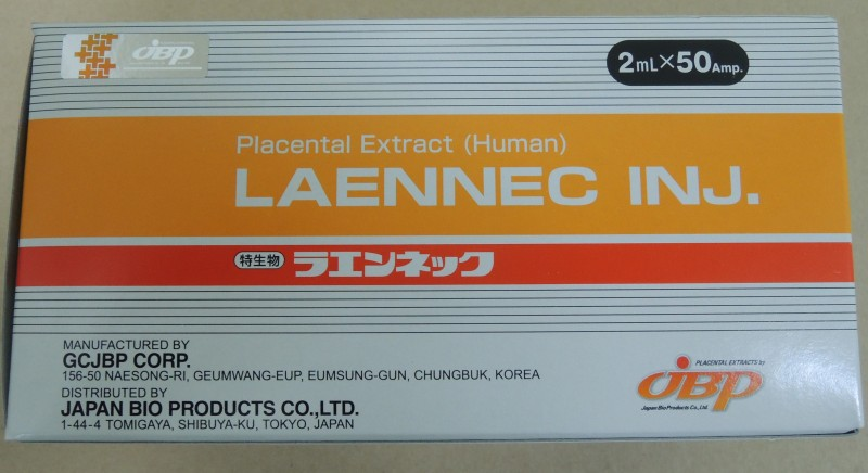 New Laennec Inj Box with sticker as of January 2015